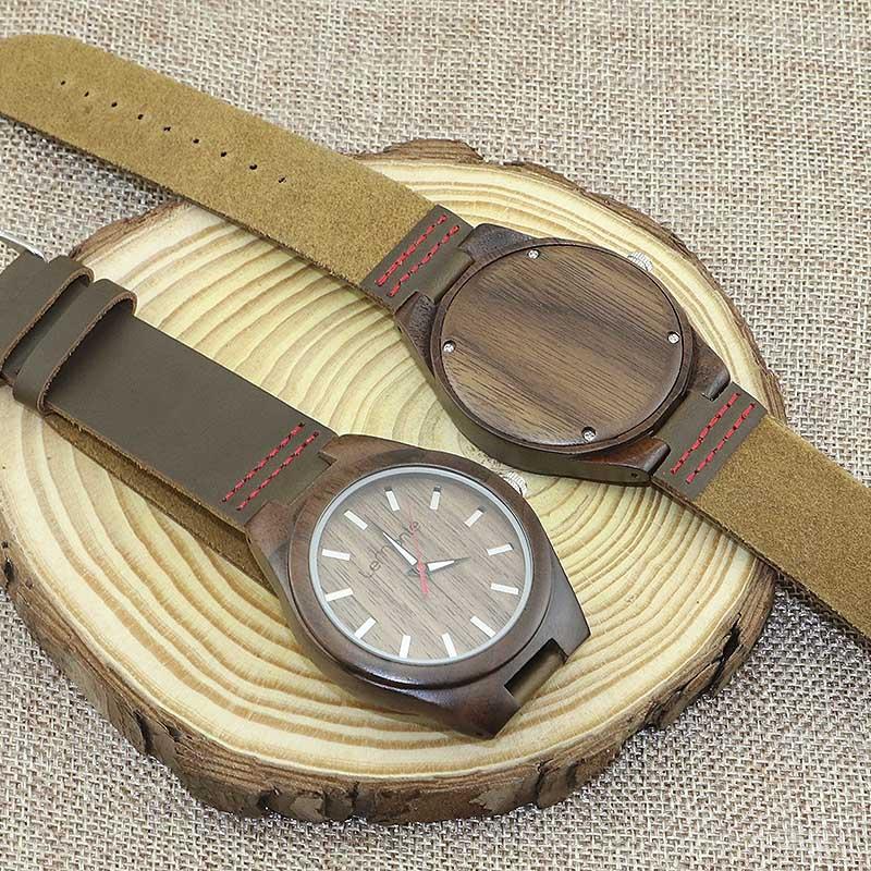 Reloj Brown Walnut