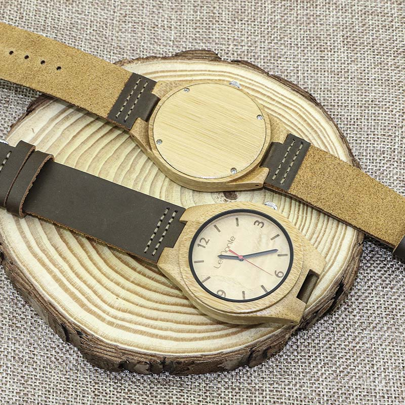 Reloj bambú Lemonte