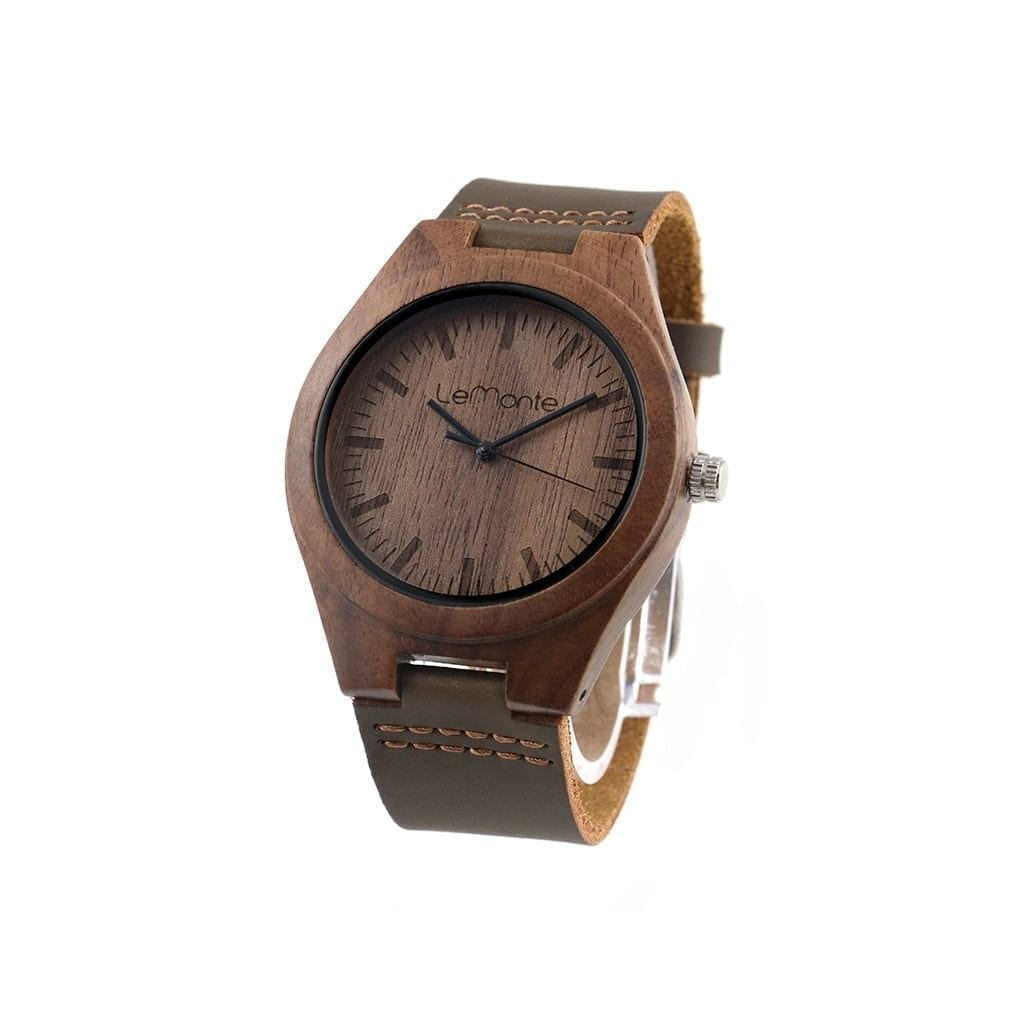 Reloj de mano madera