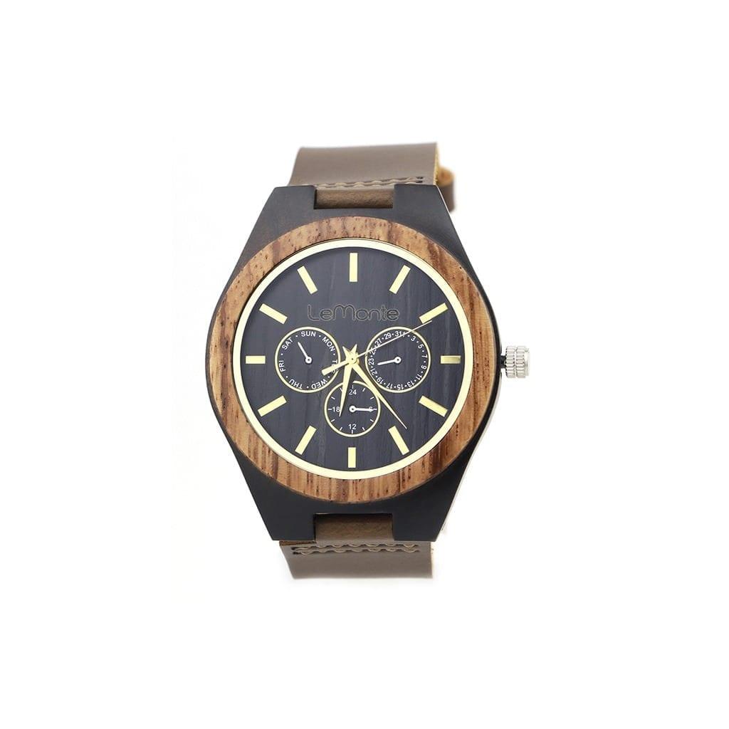 Reloj madera Vesubio