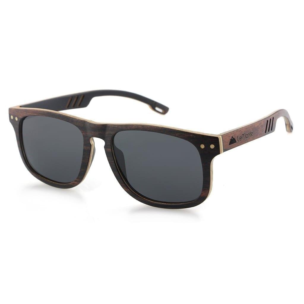 Gafas de madera de hombre