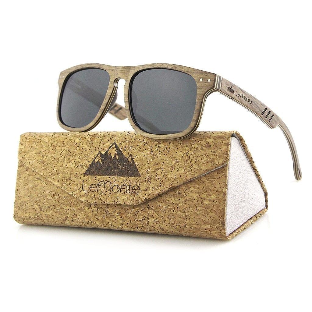 Gafas de madrera sol