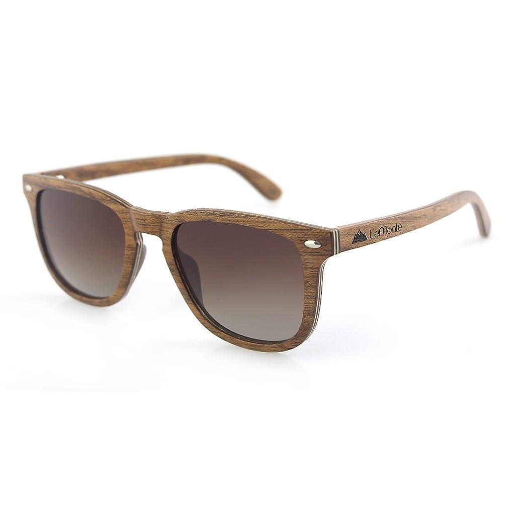 Gafas de sol de madera Lemonte