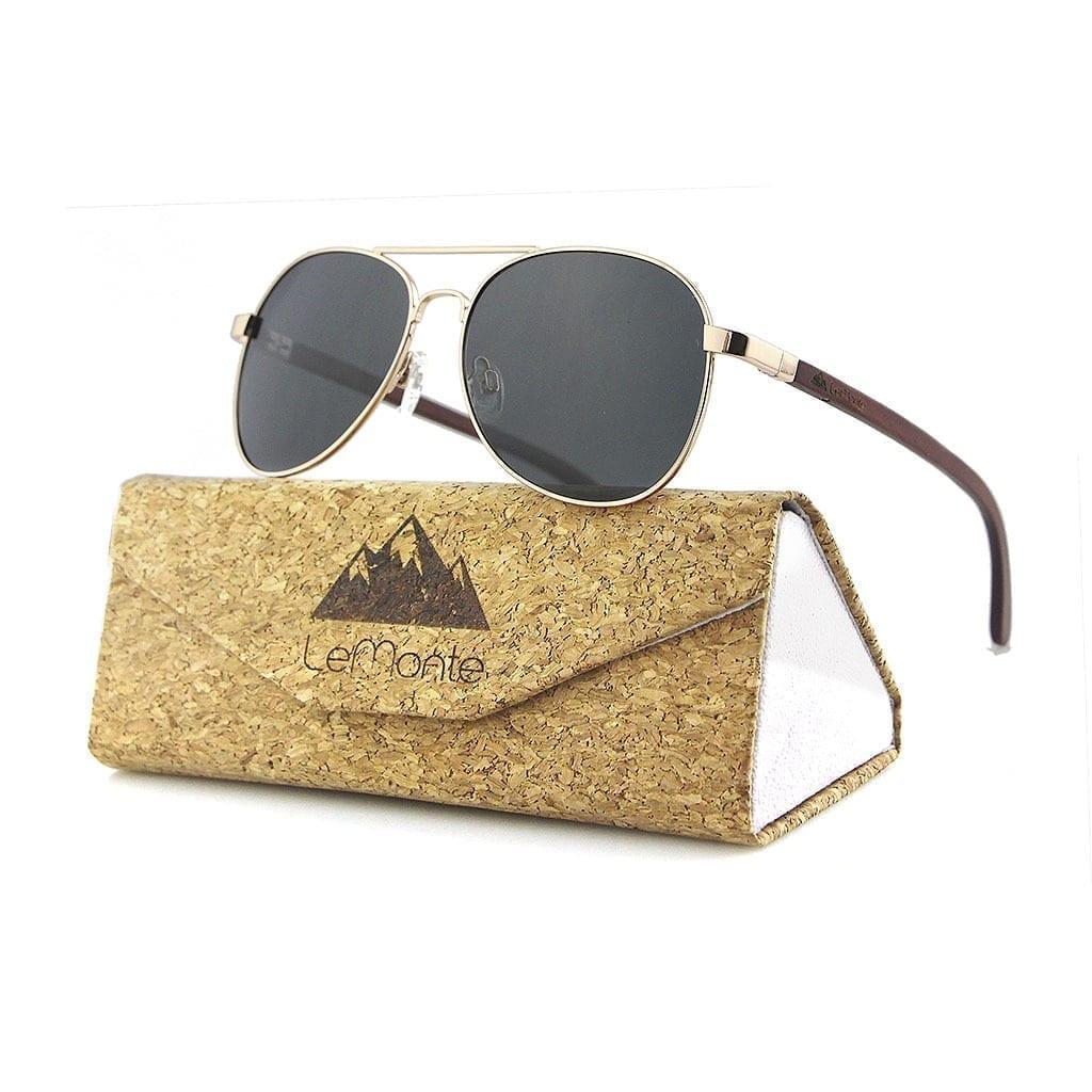 Gafas de sol patillas de madera