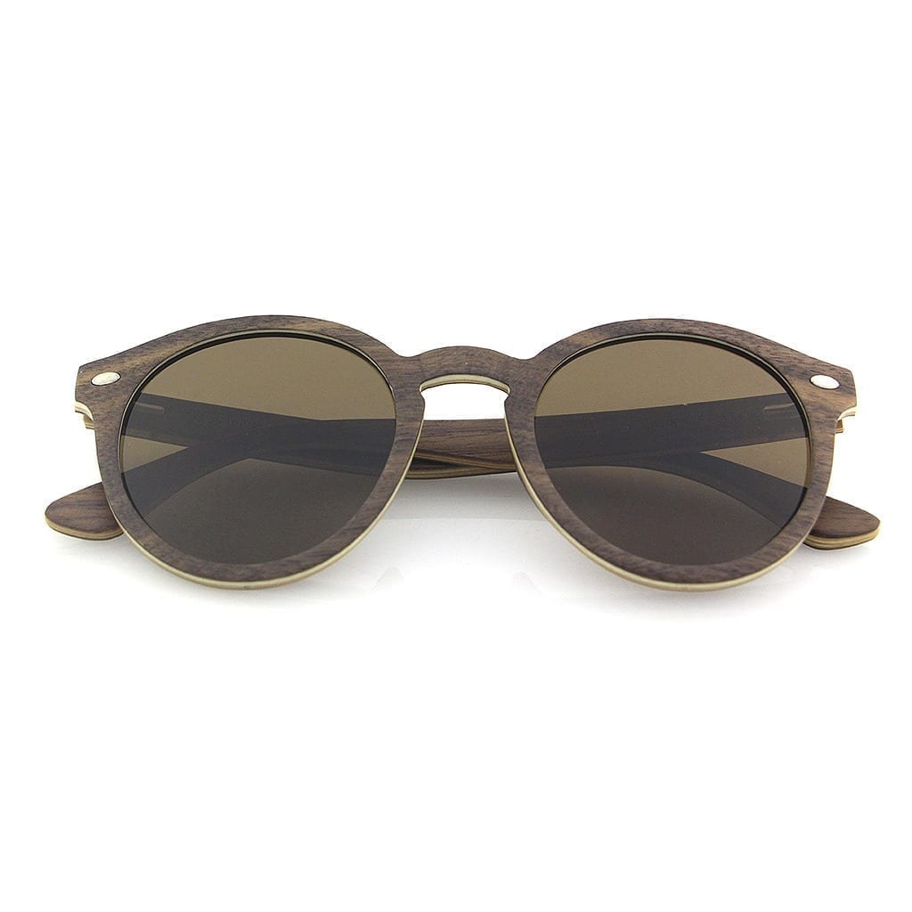 Gafas sol de madera