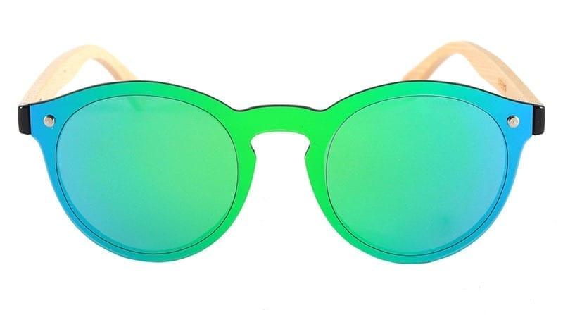 gafas sol con patillas de madera