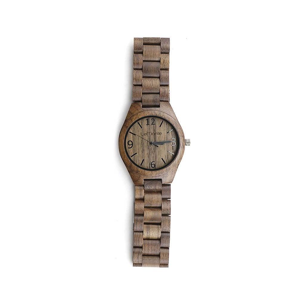 Reloj McKinley de madera