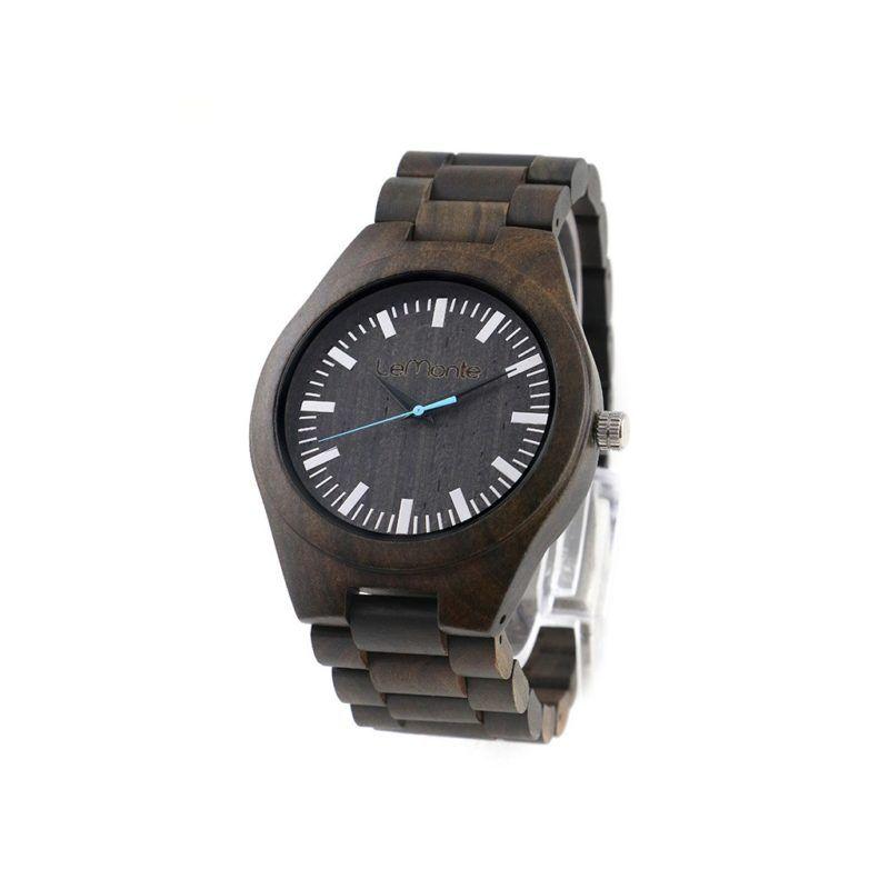 Reloj articulado de madera