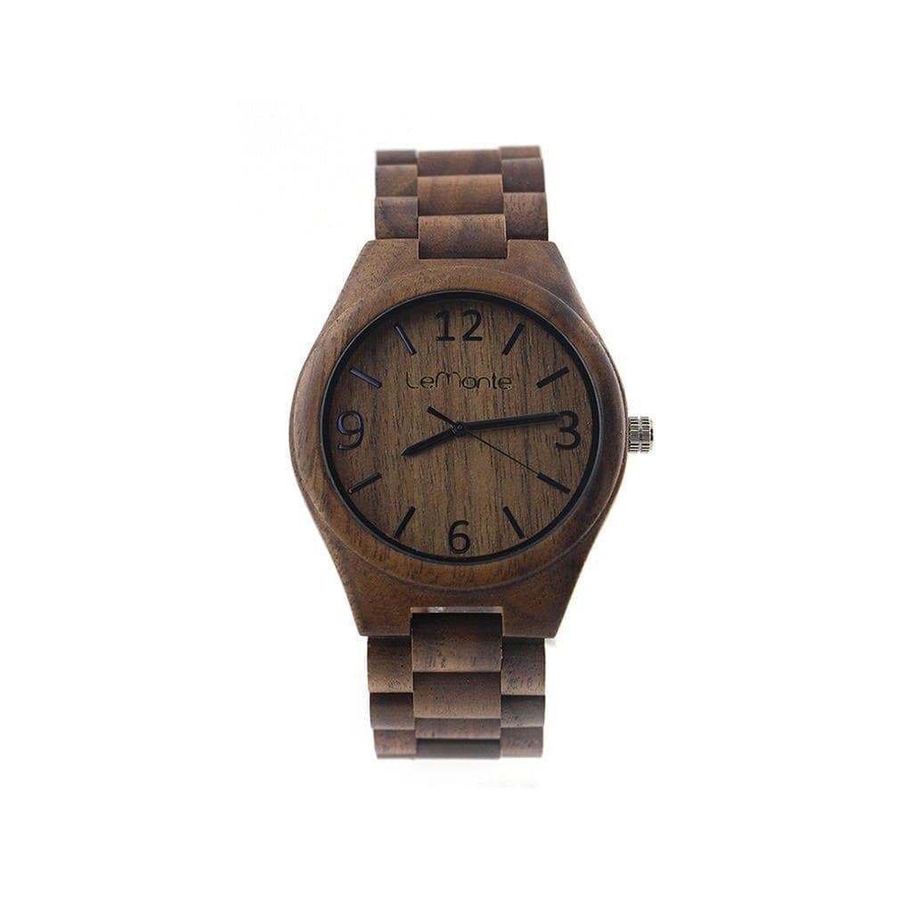 Reloj correa de madera hombre