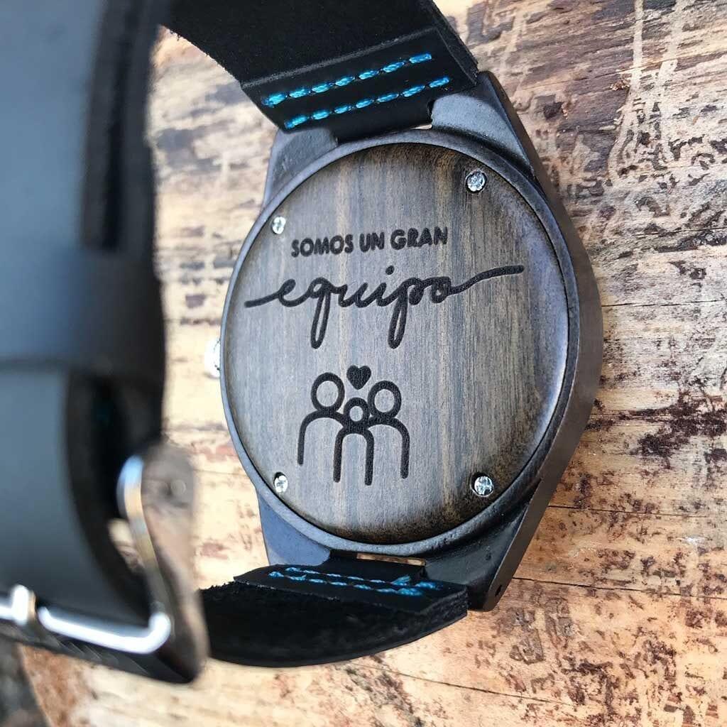 Reloj de madera personalizado Lemonte