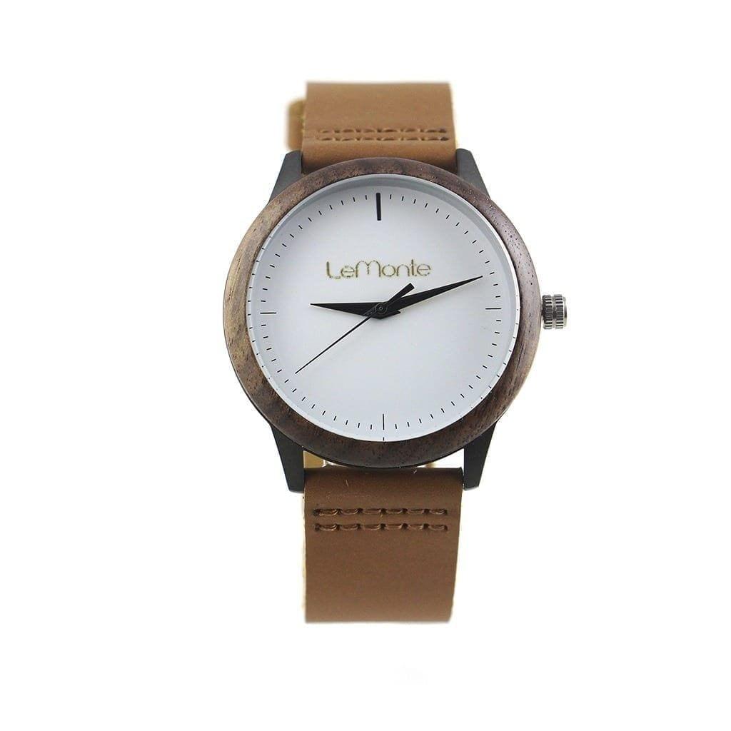 Reloj de madera pulsera
