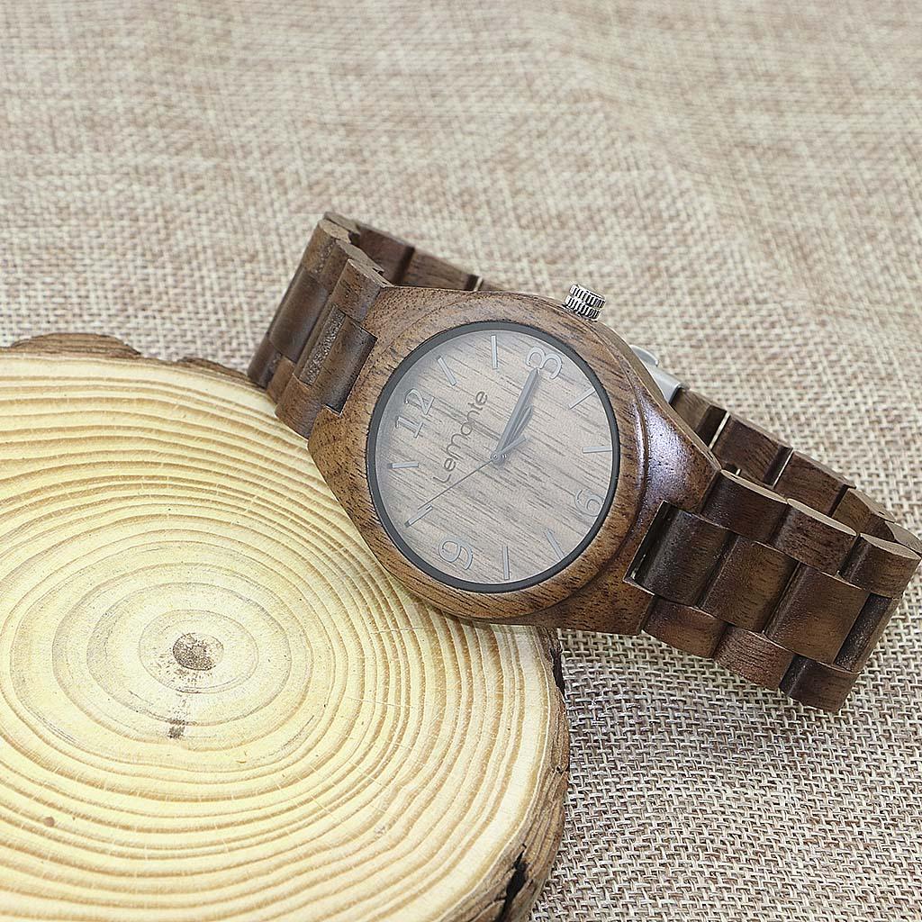 Reloj madera McKinley