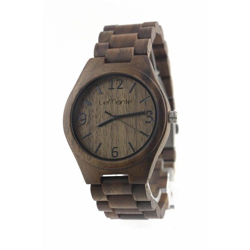 Reloj pulsera de madera