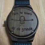 Relojes de madera personalizados
