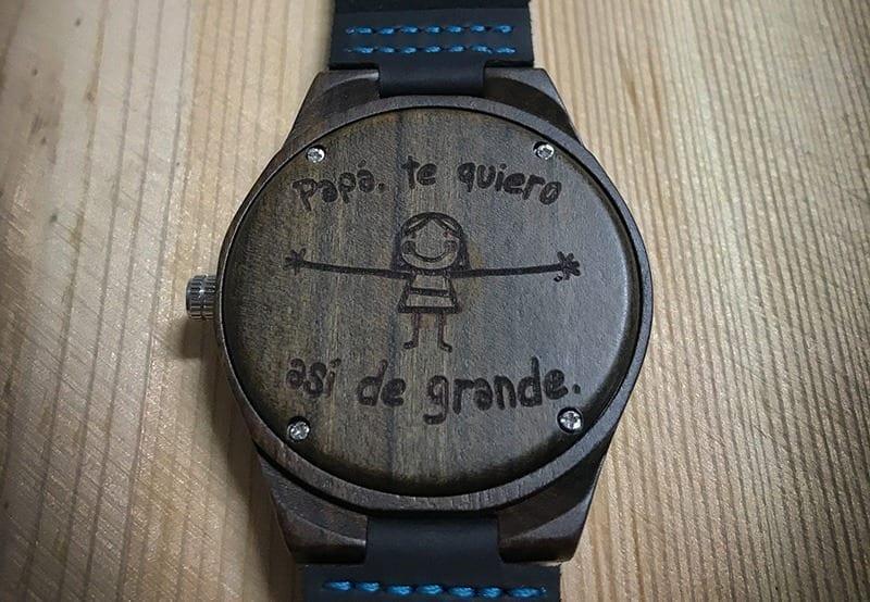 mitad de descuento disfruta de precio barato Tener cuidado de Reloj de madera de mano Himalaya