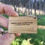 Etiqueta mensaje personalizado