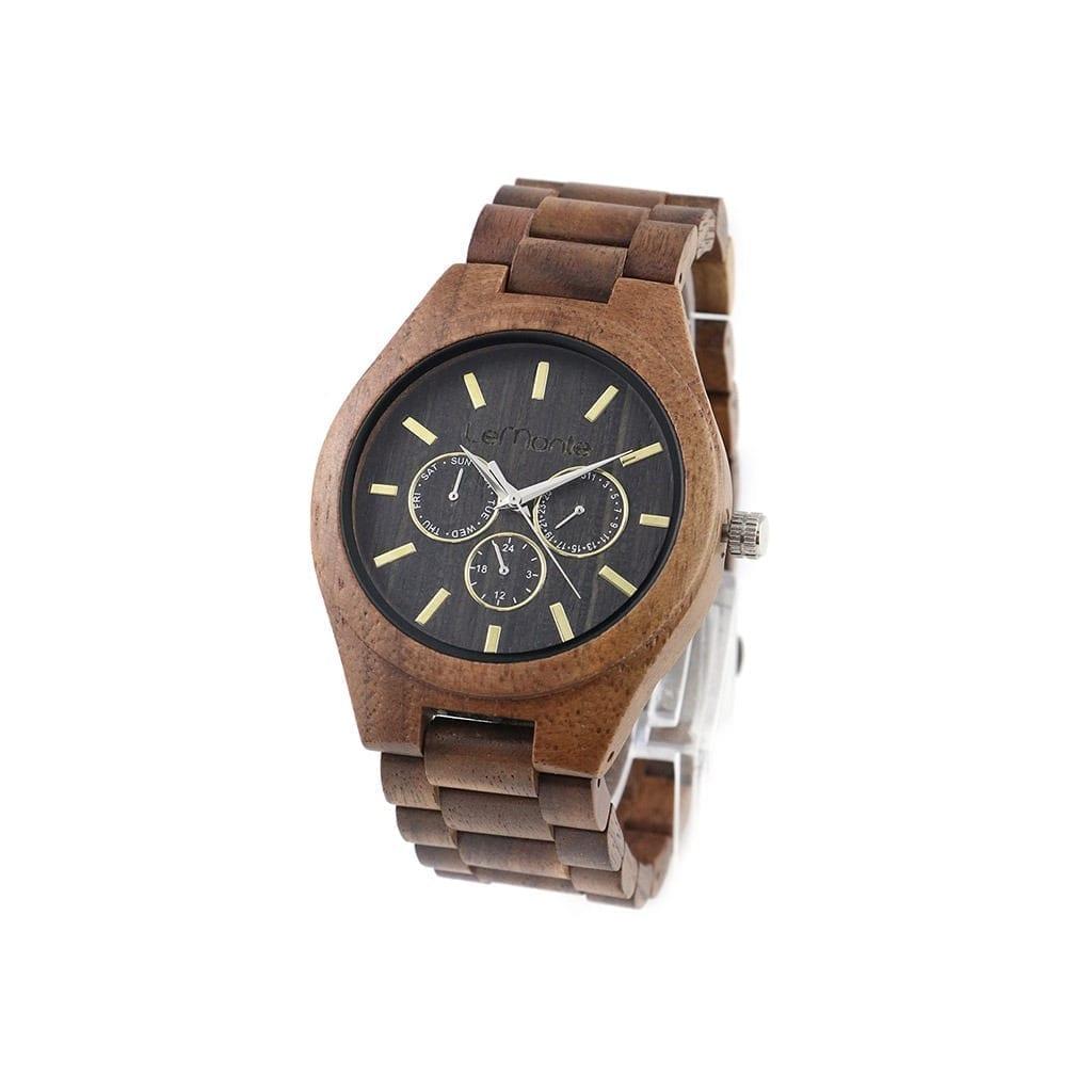 Reloj madera cronografo