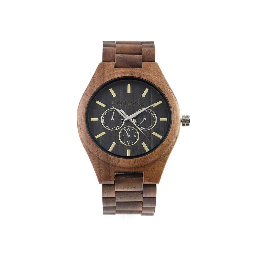 Reloj de madera crono