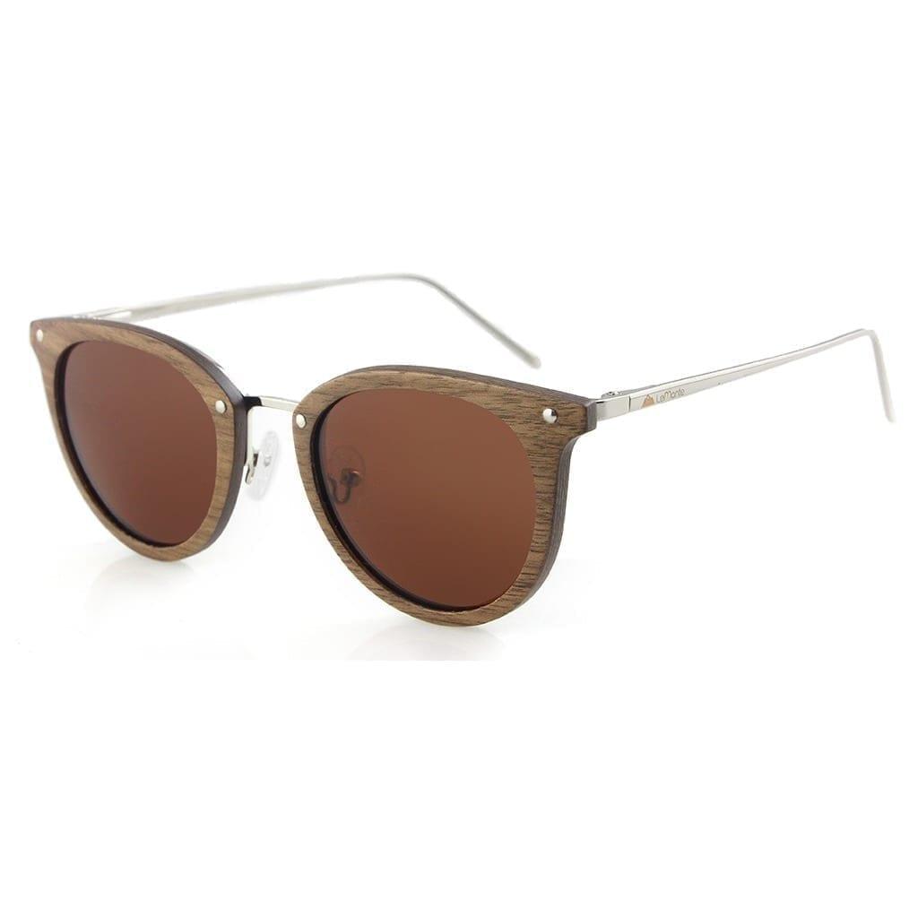 Gafas de madera de sol