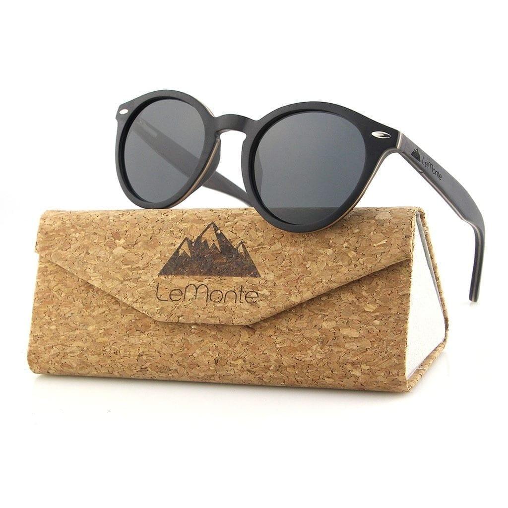 Gafas de sol madera Lemonte