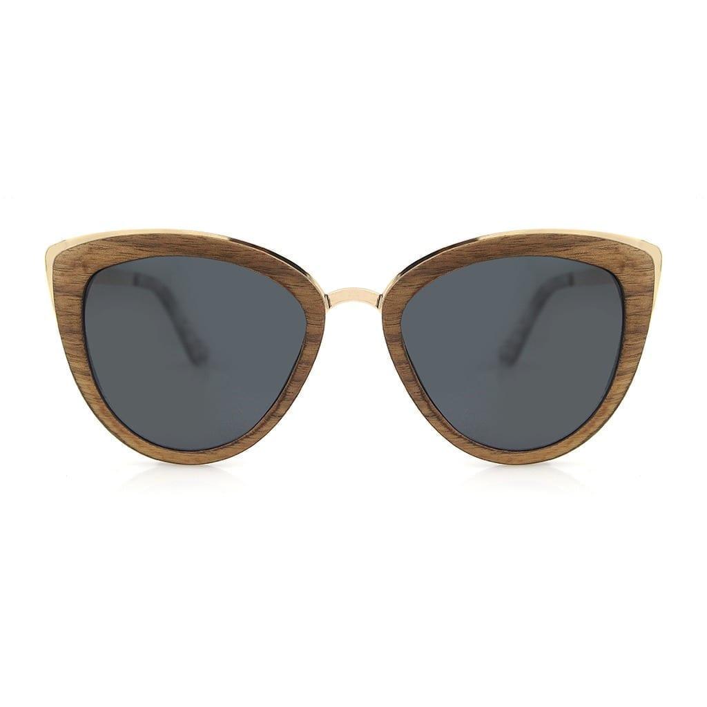 Gafas de sol madera mujer
