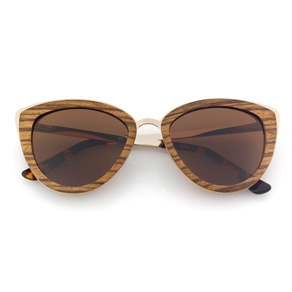 Gafas madera mujer