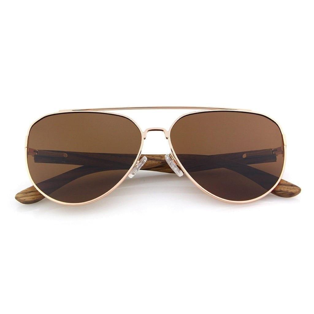 Gafas sol estilo aviador