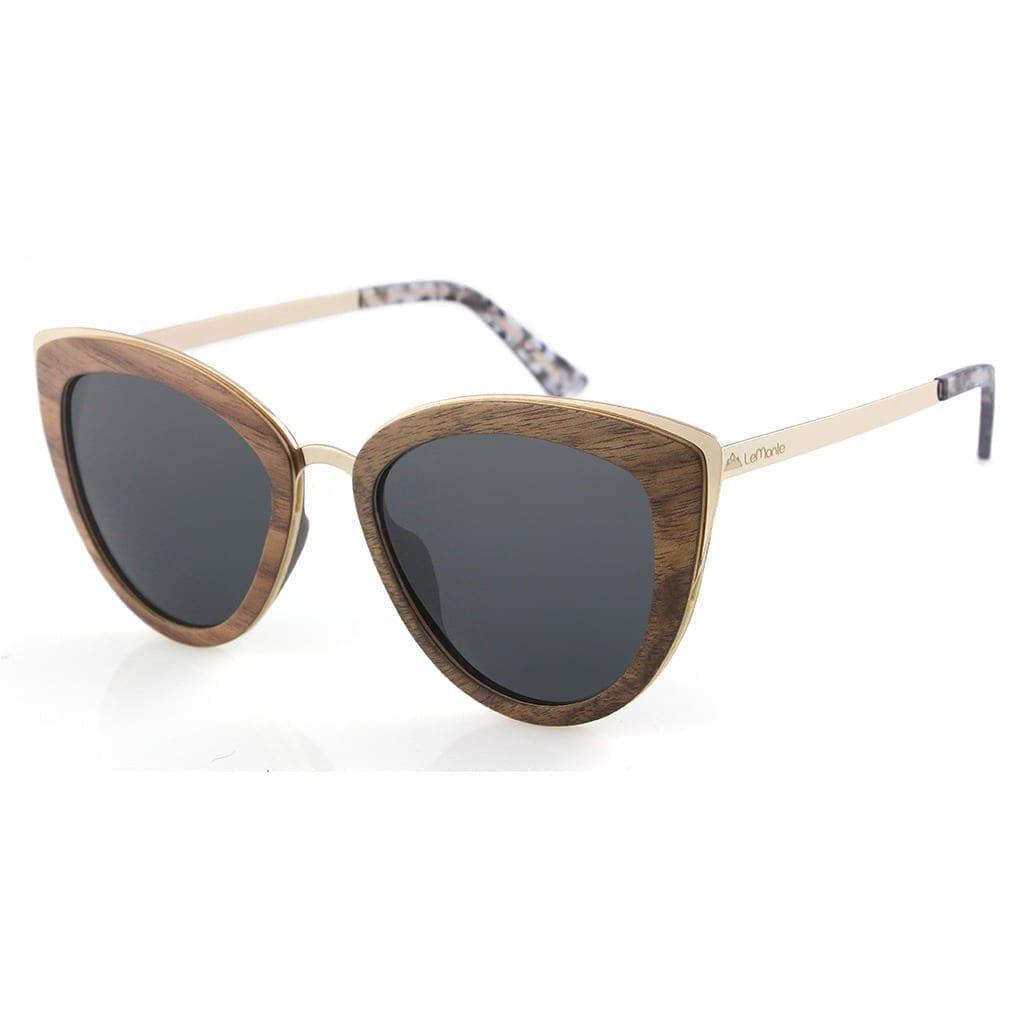 Gafas sol madera mujer