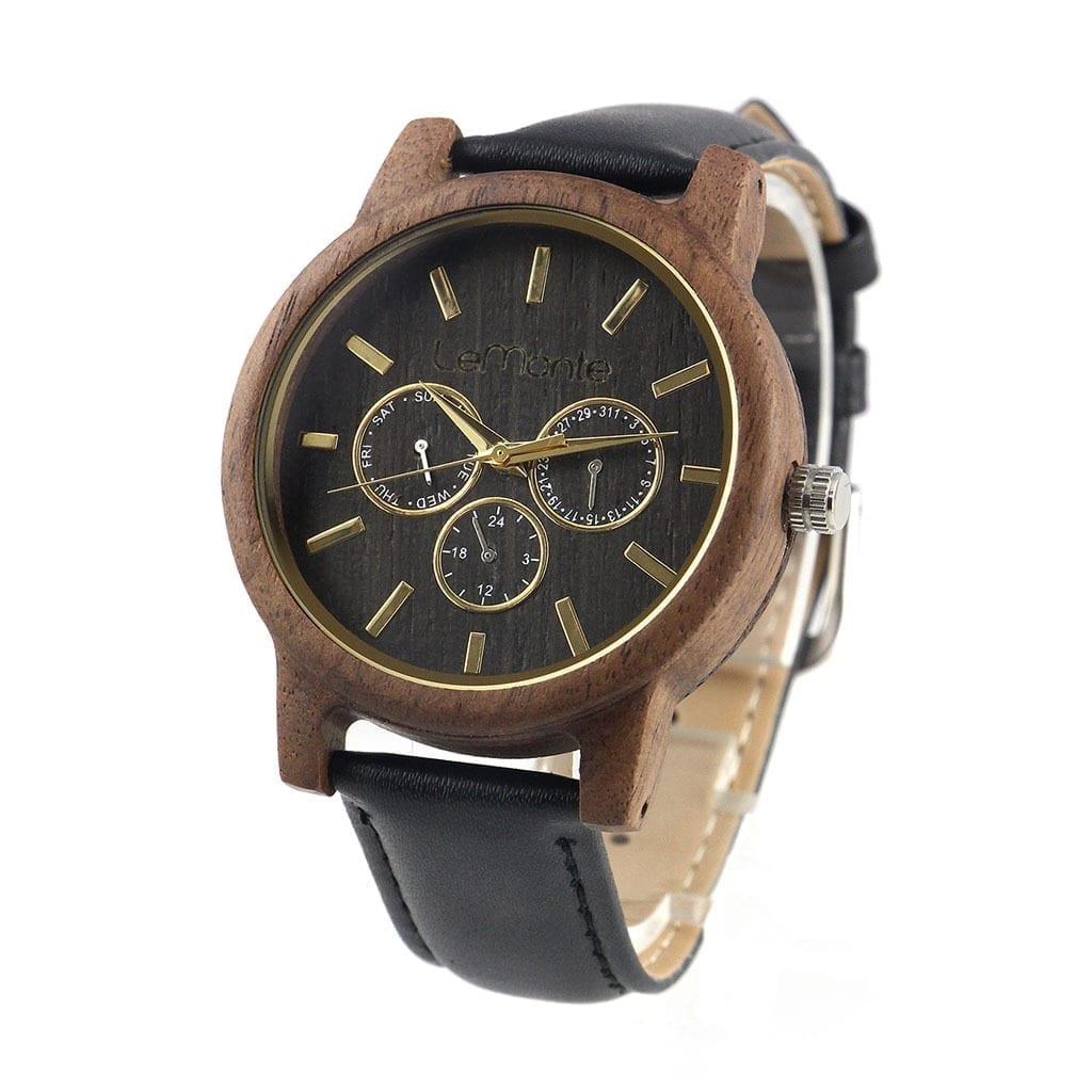 Reloj cronografo madera