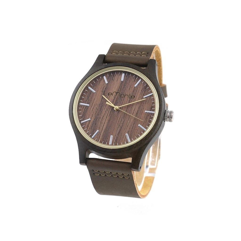 Reloj de madera Lemonte