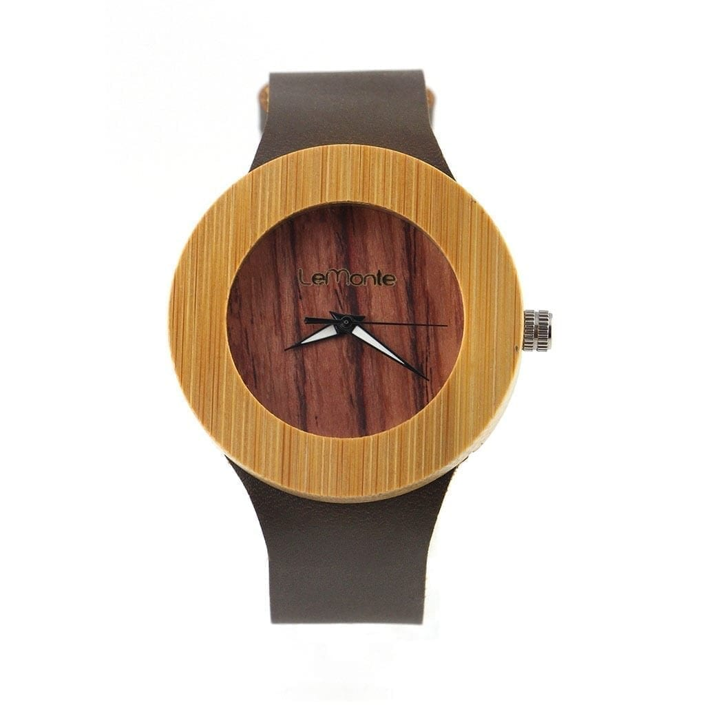 Reloj de madera mujer