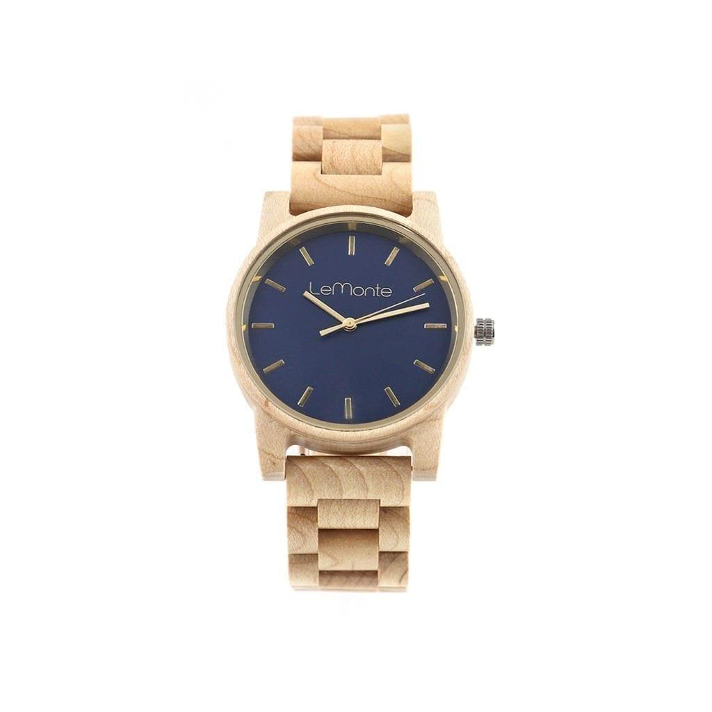 Reloj de madera pulsera Lemonte