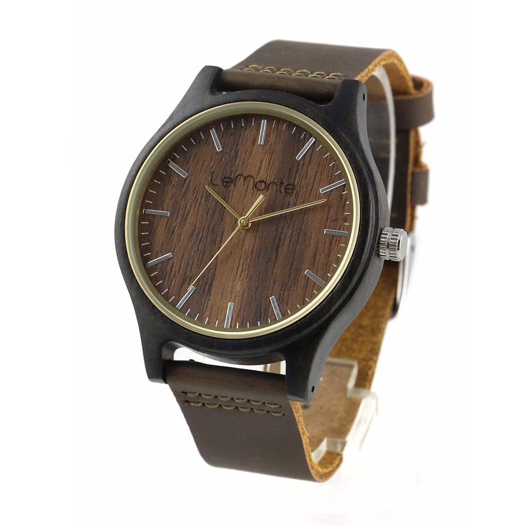 Reloj de pulsera madera