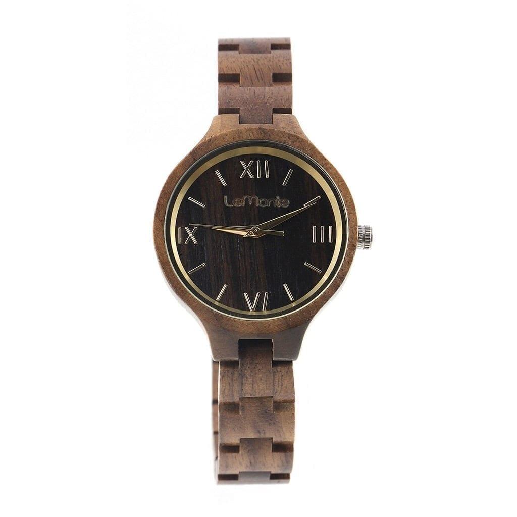 Reloj de pulsera mujer madera