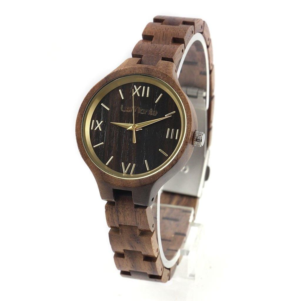 Reloj madera pulsera mujer