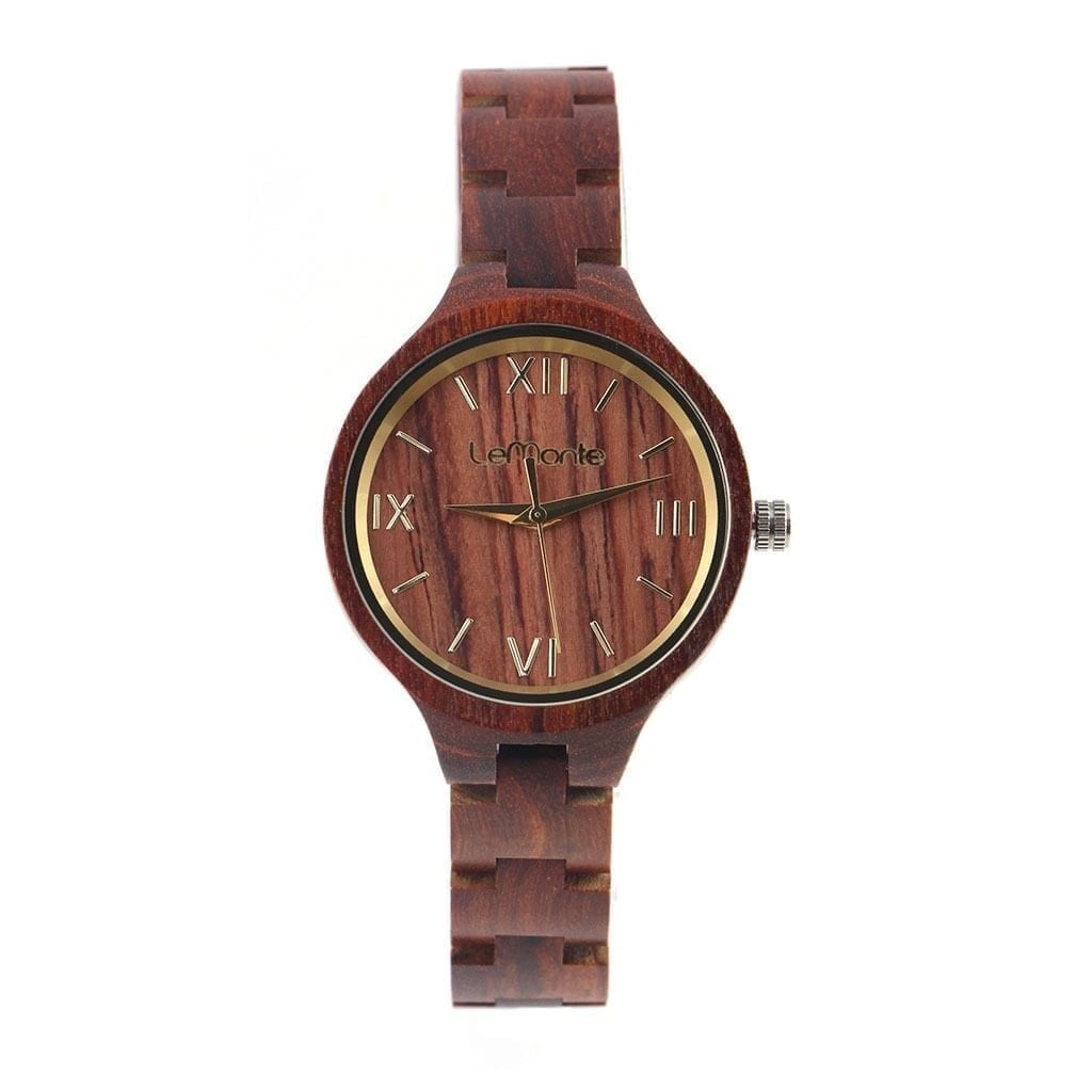 Reloj pulsera madera mujer