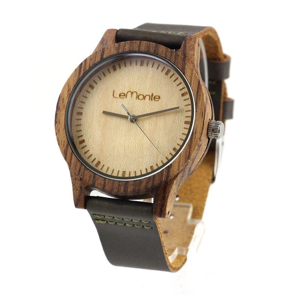 Reloj pulsera madera