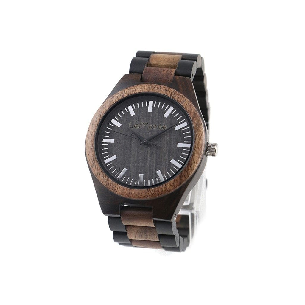 Reloj correa madera