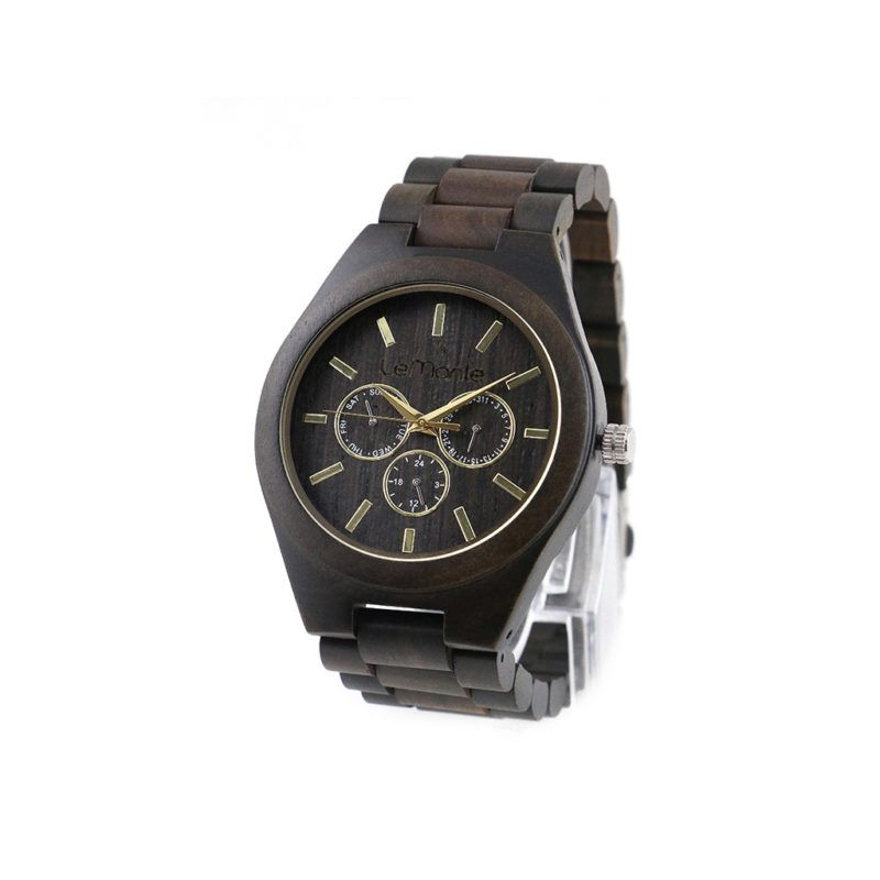 Reloj pulsera madera Vancouver Ebony
