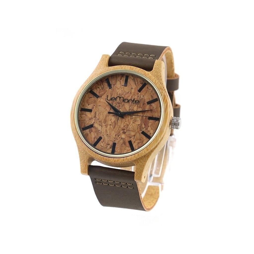 Reloj de mano Bambú y corcho modelo Cork