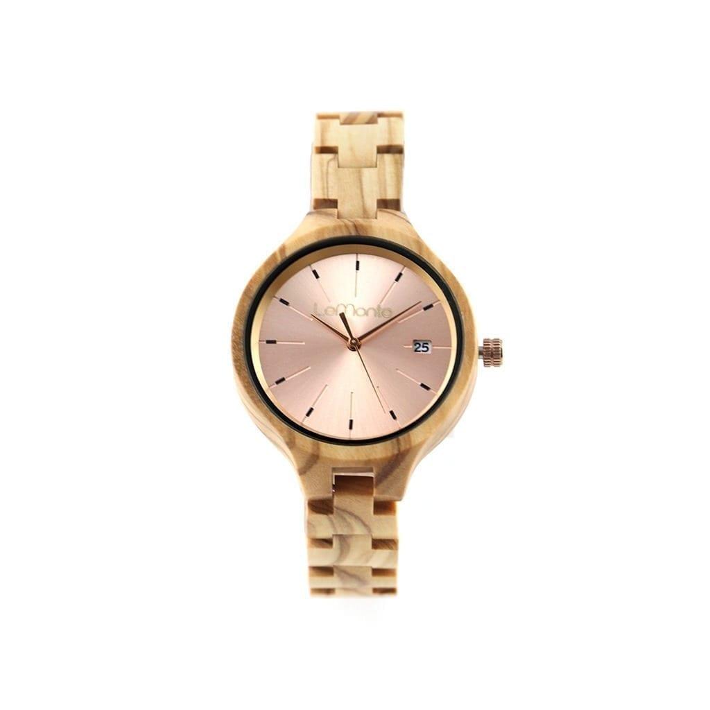 Reloj madera de mujer