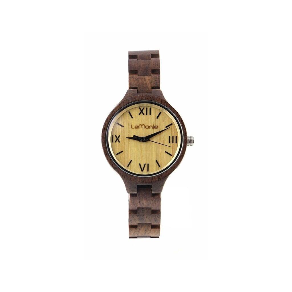 Reloj de pulsera mujer de madera