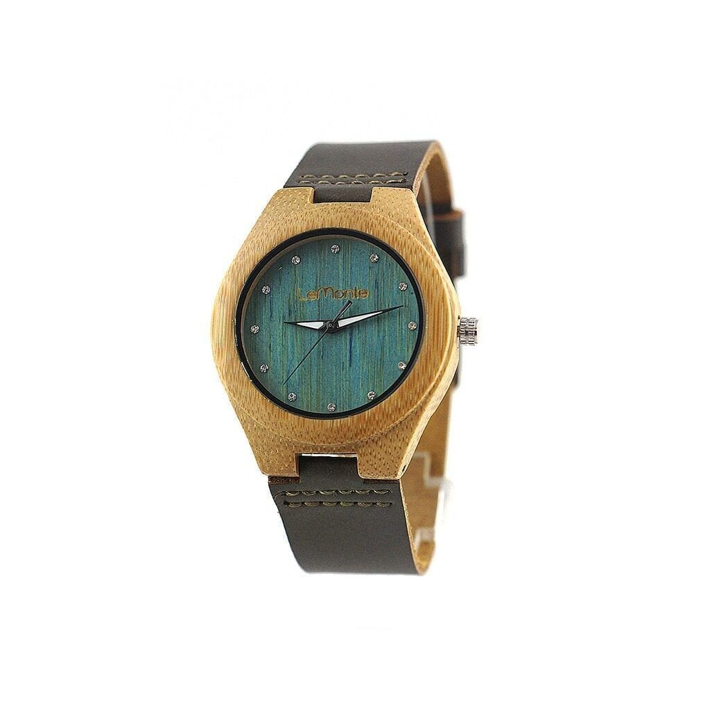 Reloj madera Ocean Bamboo