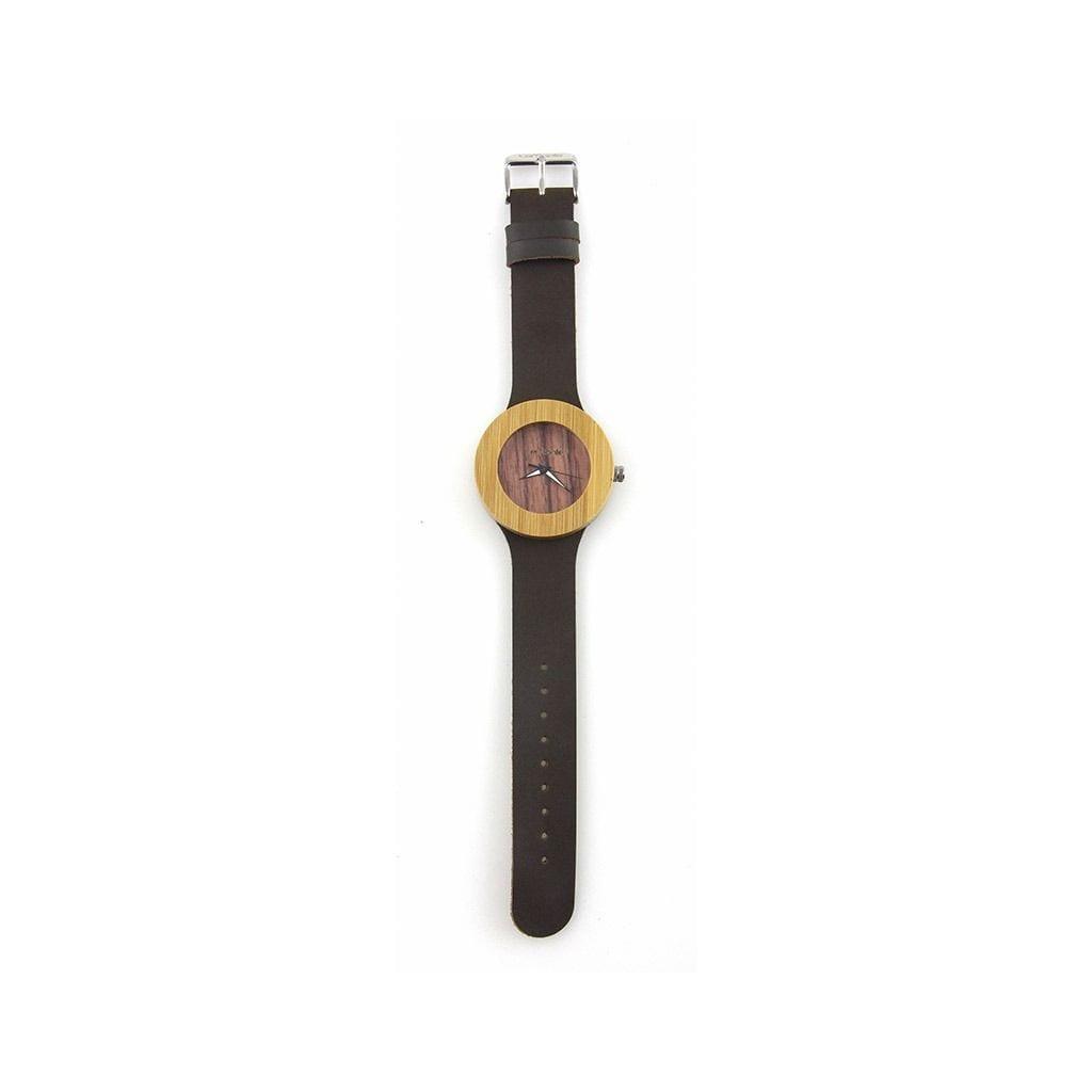 Reloj madera para mujer