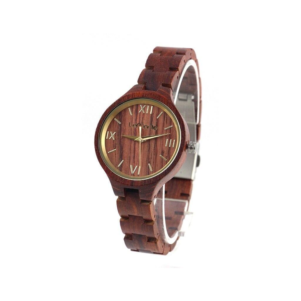 Reloj mujer pulsera madera