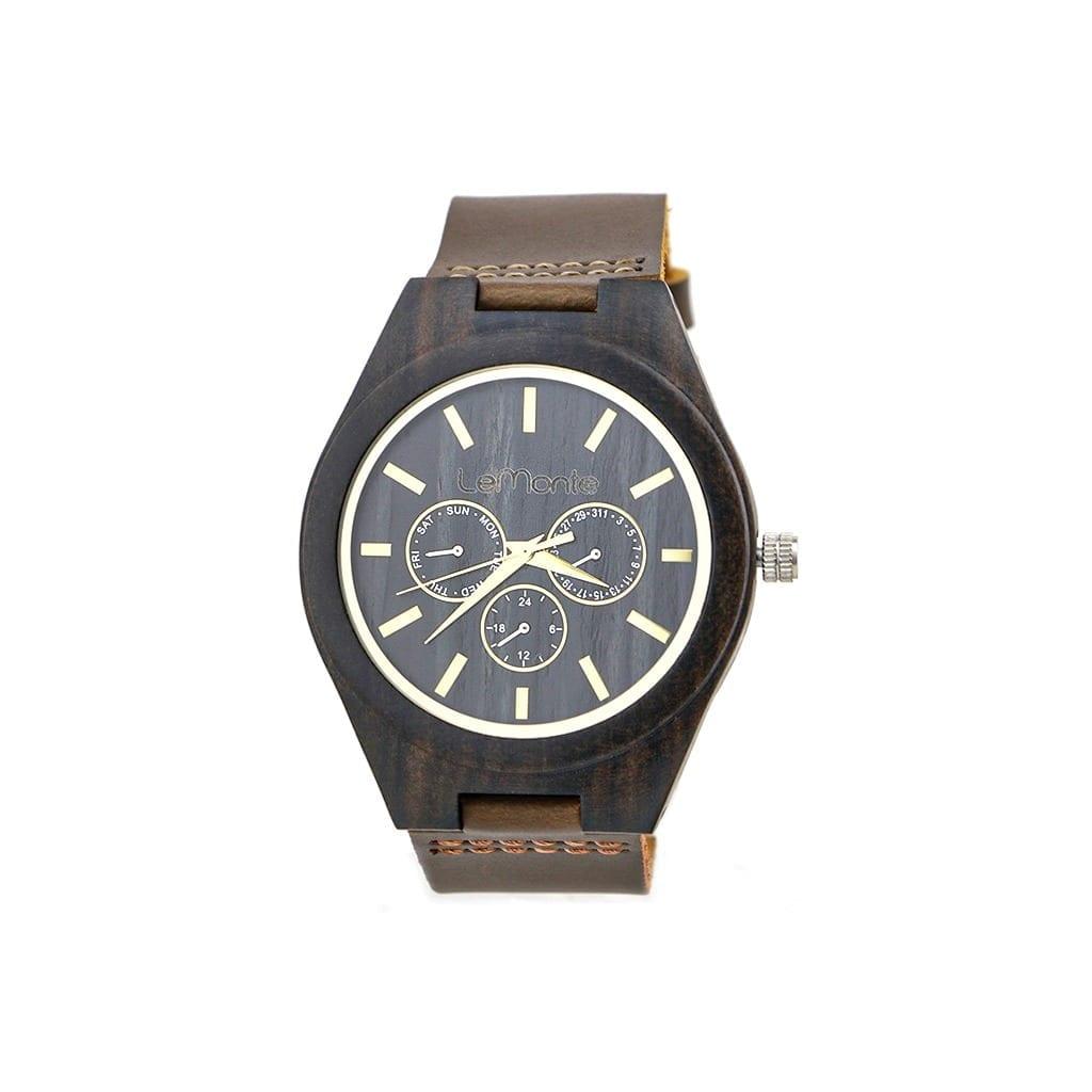 Reloj de madera Danubio