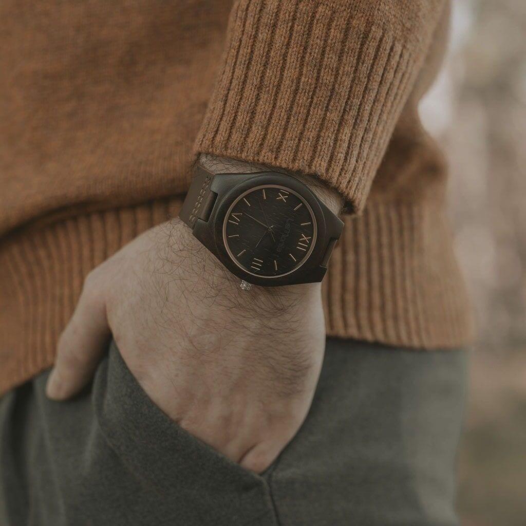 Reloj de madera modelo Teide