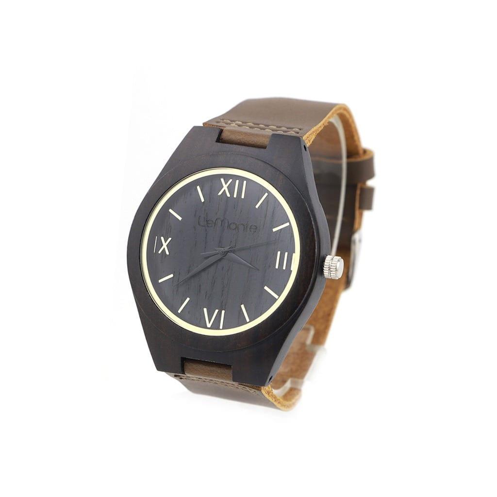 Reloj madera pulsera Lemonte