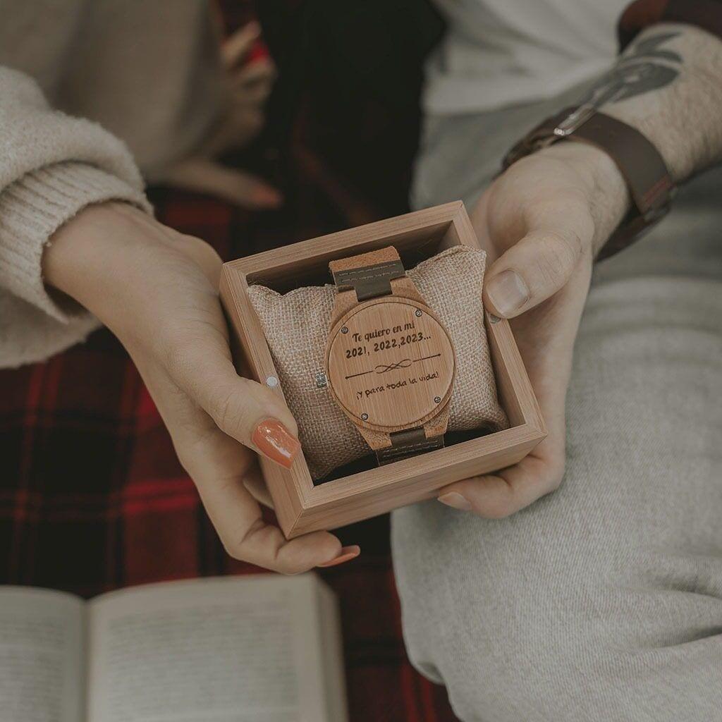 Reloj para parejas con grabado