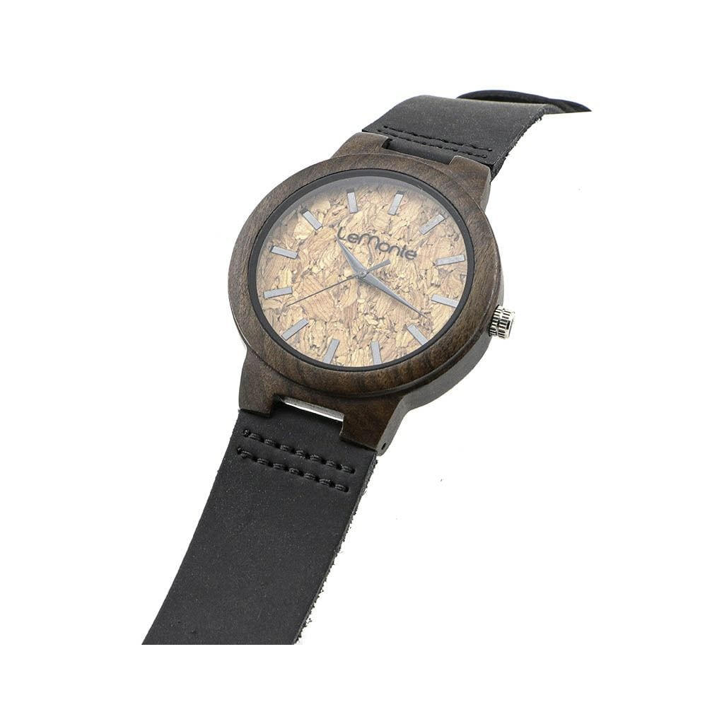 Reloj de corcho madera